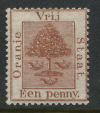 Orange Free State QV 1883 1d brown mint o.g.