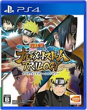 NEW PS4 Naruto Shippuden Narutimate Storm Trilogy JAPAN Sony PlayStation 4 game