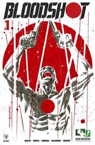 HERO INITIATIVE BLOODSHOT 50 PROJECT Original cover: RYAN SOOK CGC 9.8