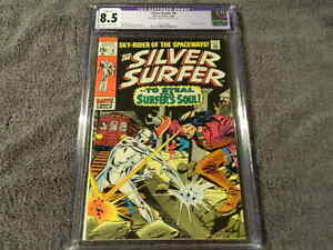1969 MARVEL Comics SILVER SURFER #9 - 4th appearance of MEPHISTO - CGC 8.5