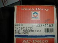VW Audi    REMAN  ACDELCO STARTER 323-1163 ./ Bosch SR10X