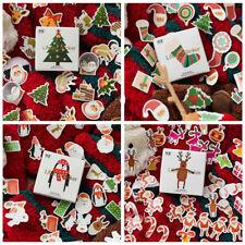 200pcs CHRISTMAS STICKERS Xmas DIY GIFT CARD SEAL Scrapbooking Labels Tags Decor