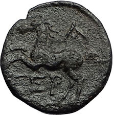 Termessos Major in Pisidia 71BC Zeus Horse Authentic Ancient Greek Coin i58280
