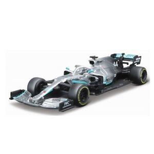 Bburago 1:43 2019 Mercedes Benz AMG Petronas F1 W10 LEWIS HAMILTON 44 Model Car