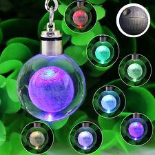 3D Kristall Star Wars Death Star Nachtlicht Schlüsselanhänger Geschenk
