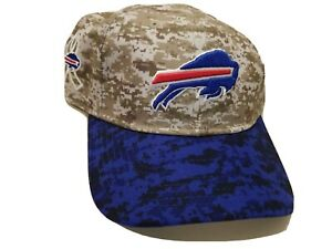 Buffalo Bills New Era 9Twenty Women Adjustable Baseball Hat SALUTE TO SERVICE