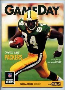 12/16 1990 Philadelphia Eagles Program NFL Gameday Magazine Green Bay Packers
