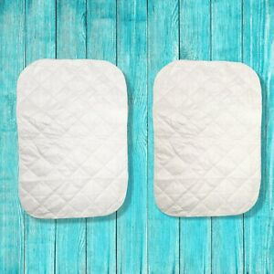 Sealy Multi-Use Pads2 Pack Cloth Crib Liners