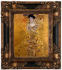 Klimt Adele Bloch-Bauer I Portrait Wood Framed Canvas Print Repro 8x10