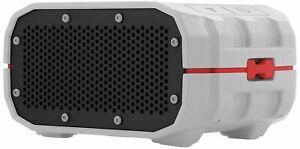 Braven BRV-1 Portable Ultra Rugged Wireless Speaker - Grey/White/Red - Free P&P