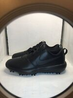 NIKE ROSHE G TOUR TRIPLE BLACK GOLF CLEATS MENS SIZE 10 W |BRAND NEW!|AR5579-007