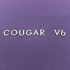 Used 1999-2002 Mercury Cougar Rear Deck Lid Emblems Badges Logo Chrome (2001)