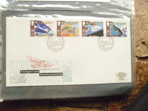 1988 ROYAL MAIL TRANSPORT & COMMUNICATION FIRST DAY COVER