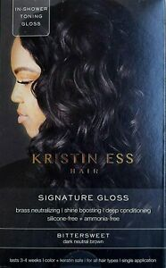 Kristin Ess Signature Gloss Bittersweet Dark Neutral Brown
