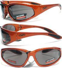 Global Vision Hercules Orange Safety Glasses Sun Smoke Unbreakable Tough Z87+