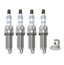 Spark Plugs x 4 Bosch For Mini R55 56 57 One Cooper Citroen C3 4 VTi 120 Peugeot