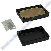 88x59x30mm Black ABS Plastic Enclosure Small Project Box For Electronic Circuit