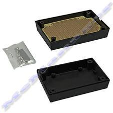 88x59x30mm Nero in Plastica ABS enclosure piccola casella Progetto per il circuito elettronico