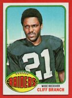 1976 Topps #173 Cliff Branch NEAR MINT-MINT Oakland Raiders FREE SHIPPING