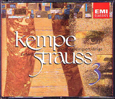 Rudolf KEMPE: STRAUSS Eine Alpensinfone Don Quixote Macbeth PAUL TORTELLIER 3CD