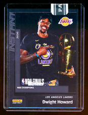 2019-20 PANINI INSTANT DWIGHT HOWARD NBA CHAMPION BLACK PARALLEL LAKERS SP #1/1!