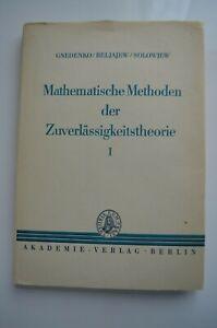 Mathematische Methoden der Zuverlässigkeitstheorie, Band 1