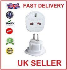 Qtà 2 Regno Unito per USA Stati Uniti America / Australia / Nuova Zelanda Spina Viaggio Adattatore di alimentazione