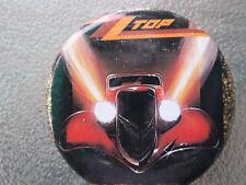 "New Vintage Zz Top ""Eliminator"" 2 1/4"" Pinback Button"