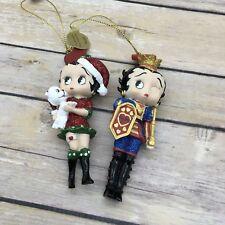 """2010 Danbury Mint Betty Boop """"Santa's Helper"""" On Guard Ornament"""