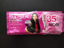 Sunsilk Smooth & Manageable Shampoo 6 x 13.5ml Sachets Travel 81ml Total