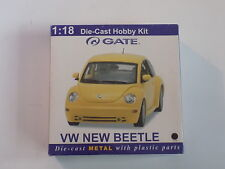 GATE DIECAST1/18 SCALE  METAL KIT VW NEW BEETLE IN BLACK