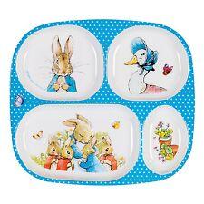 Peter Rabbit Children's Compartment Tray, Peter Rabbit Children's Tableware