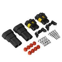 2 Set 9005 9006 HB4 HB3 Female Male Connectors HID LED Socket Adaptor Joint Head