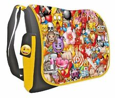 Emoji JUNIOR MESSENGER BAG - Back to School / Travel Bag - WH4 - 548 - NEW