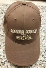 OCC Orange County Choppers Brown Adjustable Hat Cap New!