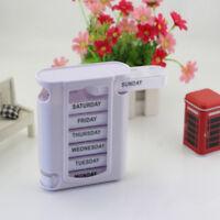 7 age tragbare Schublade Pille Box Holder Weekly Medicine Storage Case Hot