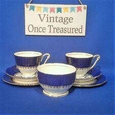 Tea Trio Queen Anne Porcelain & China