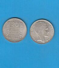 Troisième République 20 francs argent Turin 1938 Exemplaire N° 3 Superbe qualité