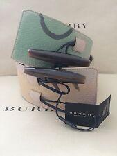 Cinturón DE CUERO GENUINO BECERRO BURBERRY PRORSUM hechas en Italia de tamaño 42/105 BNWT