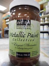 Modern Master latex metallic paint (colour STATUARY BROZE)