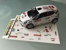 Decal 1 43 RENAULT CLIO 4 RSN°87 Rally WRC monte carlo 2015 montecarlo