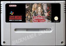 Super Castlevania IV other Castle SNES PAL Super Nintendo Vampire's Kiss Hack