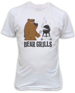 Bear Grills T-Shirt - Funny Printed T-Shirt inspired by the adventurer Bear Gryl