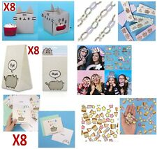 ULTIMATE PUSHEEN PARTY PACK: BAGS, CARDS, CAKE BOXES, CONFETTI, CHAINS, SELFIES