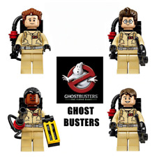 4pcs/Set People Lot Minifigure For Lego Ghostbusters Raymond Figures Serie Gift