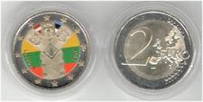 Litauen 2 Euro Gedenkmünze 2018 100 Jahre Unabhängigkeit Balt. Staaten FARBE