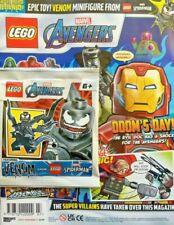 LEGO 242003 Superhero Legends Magazine Avengers 3 2020 Captain Marvel Minifigure