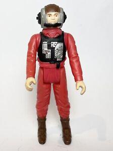 BWING PILOT Vintage Star Wars Figure Original 1984 NO COO