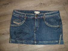JUPE COURTE DIESEL  jeans femme /KARNA/ 28 /40Fr PARFAIT ETAT-taille basse