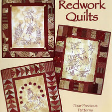 NEW BOOK: Redwork Quilts: Four Precious Patterns